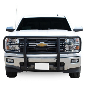 "Luverne 2"" Grille Guards - Black"