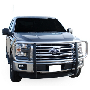 "Luverne 2"" Grille Guards - Chrome"