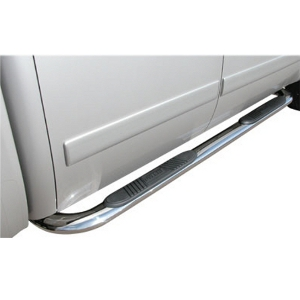 4 Inch Oval - Stainless Steel - Nerf Bars