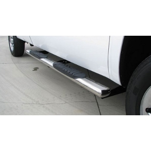 Trail FX 6 Inch Oval Tube Steps - Stainless Steel