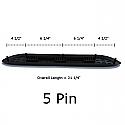 3 Inch Nerf Bar Step Pad - 5 Pin