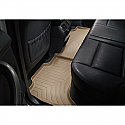 WeatherTech Floor Liners - Tan - Rear