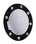 Black Ring - Chrome Door - Non Locking