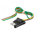 Curt 4-Way Flat Wiring Connector #58030