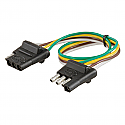 Curt 4-Way Bonded Wiring Connector #58380