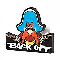 Plasticolor Hitch Cover - Back Off