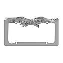 Bully License Plate Frame - Chrome Soaring