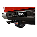 Bully Ford Hitch Brake Light Cover on truck