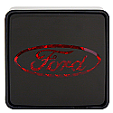 Bully - Ford Hitch Brake Light Cover front view