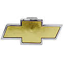 Bully Hitch Cover - Chevy Bow Tie - Front View