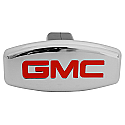 Bully Hitch Cover - GMC - front view