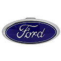 Bully Hitch Cover - Ford - front view