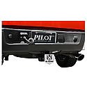 Bully Hitch Cover - Dodge Ram - on truck