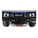 Bully Hitch Step - Lighted - on truck