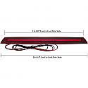 Brake Light - 136499 - Front Dimensions