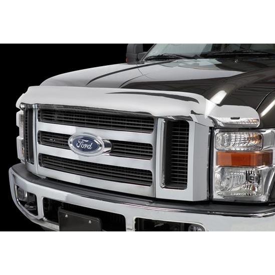 Stampede Chrome Bugshield - Super Duty