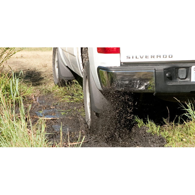 Husky Liner - Custom Mud Flap - Chevy - In use