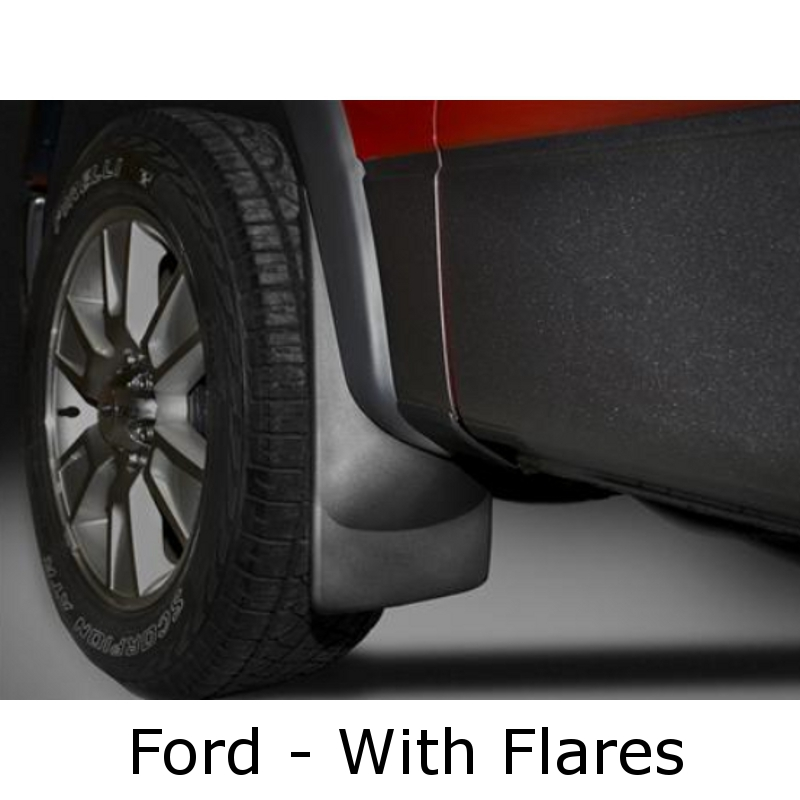 WeatherTech - Mud Flaps - with flares