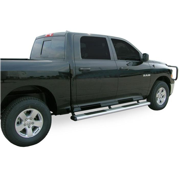 Luverne - O-Mega Steps - Satin - Dodge Ram Crew Cab