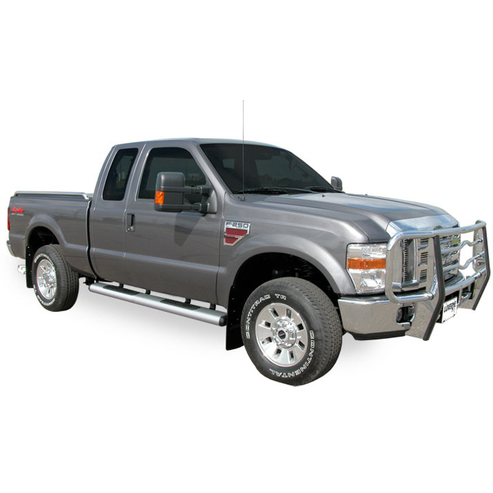 Luverne - O-Mega Steps - Satin - Ford Super Duty