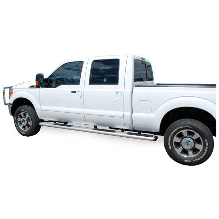 Luverne O-Mega Steps - Satin - W2W Ford Super Duty