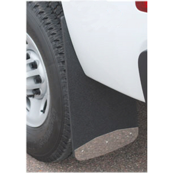 Luverne Textured Mud Flaps - Installed