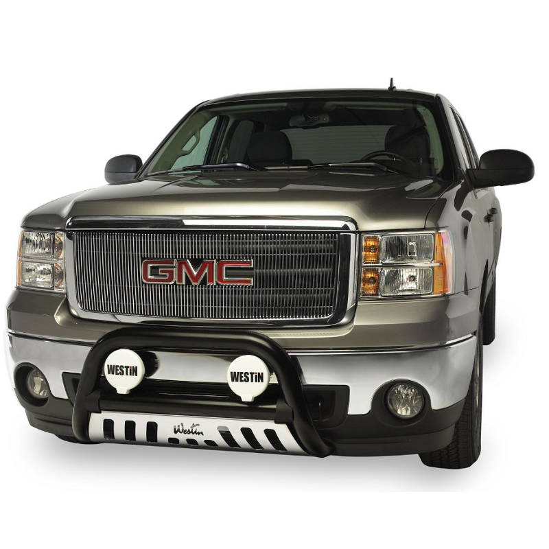 Westin Ultimate Bull Bar - Black - GMC