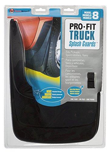 PowerFlow Pro Fit Mud Flaps - Model 8 - 6418