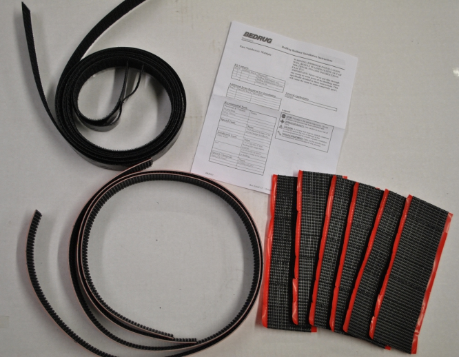 Bed Rug Replacement Installation Kit