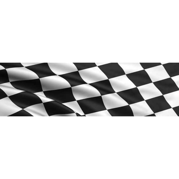 Vantage Point - Checkered Flag - Rear Window Graphic