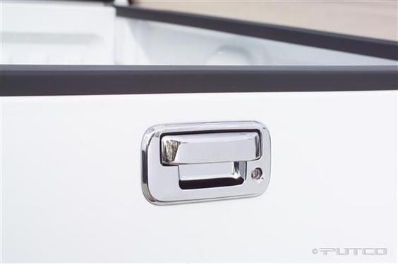 Putco Chrome Tailgate Handle Trim - 401016