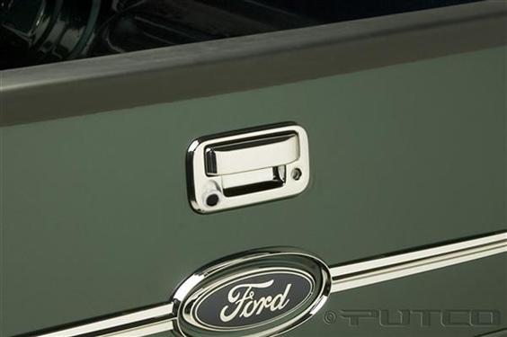 Putco Chrome Tailgate Handle Trim - 401027