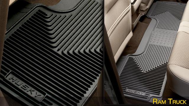 Husky Liners Heavy Duty Floor Mats - Rear