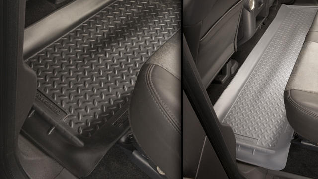 Husky Liners Classic Floor Liners - Rear (3rd Row Seats)