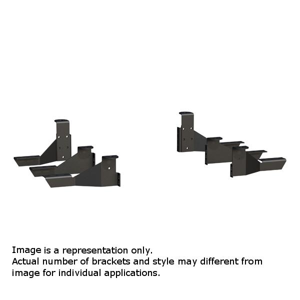Luverne Side Entry Step/Mega/O-Mega Step - Brackets Only  - 571743