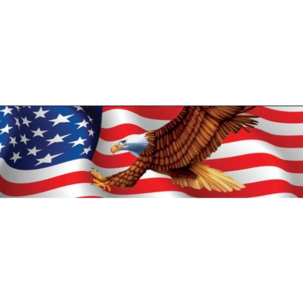 Vantage Point - Patriot Eagle - Rear Window Graphic