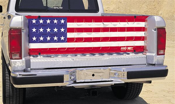Pro Net Pro Flow Tailgate Net - U.S. Flag - Full Size - PN012