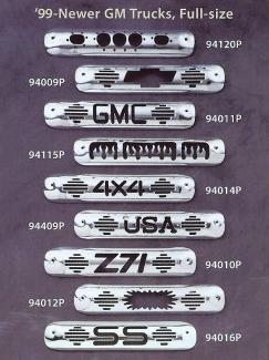 All Sales Third Brake Light Covers - 1999 - 2006 Chevy and GMC