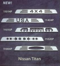All Sales Third Brake Light Covers - 2004 - 2008 Nissan Titan