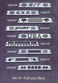 All Sales Third Brake Light Covers - 1995 - 2001 Dodge Ram
