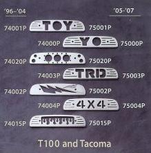 All Sales Third Brake Light Covers - 2005 - 2013 Toyota Tacoma