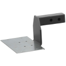 """Luverne 2"""" Hitch Step Mount with 6"""" Drop - Grip Step - 570015"""