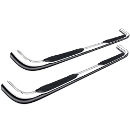 Trail FX Nerf Bars - Stainless Steel - 1110180001
