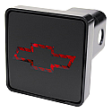 Bully Hitch Cover Brake Light - Chevy Bow Tie
