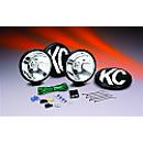 KC HiLites Apollo Series - Long Range - Black - 5 Inch