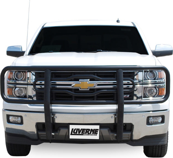 Luverne Black Grille Guard - Chevrolet