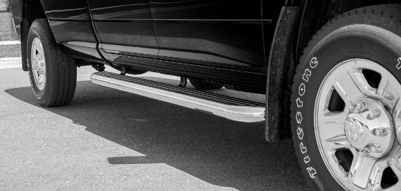 Mercedes-Benz Sprinter 2500 LUVERNE 575036-570741 MegaStep 36-Inch Cargo Van Running Boards with Non-Skid Rubber Treads for Select Dodge 3500 Freightliner