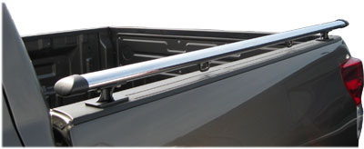 Rail Caps on Luverne Aluminum Oval Bed Rails   Chrome   Free Shipping