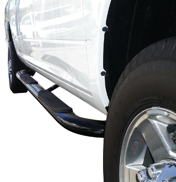 Oval Step Bar Cab Length Westin 21-4015 Platinum Series 4 in